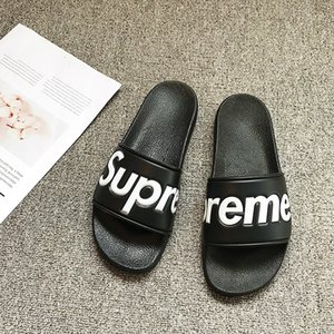 Wholesale Mens Designer Slippers Brand Letters Desinger Slides Flip Flops Summer Skid Resistance Beach Flat Slippers Shoes Colors Optional