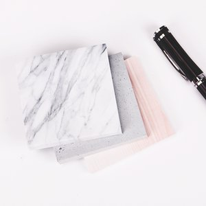 The Color of Marble Notepad Self Adhesive Memo Pad Sticky Notes mark School Office Supply 1PC(75 sheets)