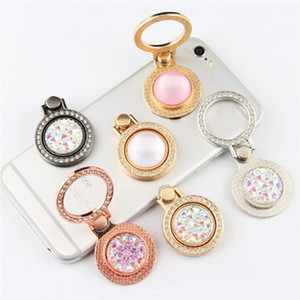 Wholesale Luxury Crystal Phone Ring Stand Holder Diamond Stand Phone Finger Ring For Samsung iPhone iPad All Smart Phone