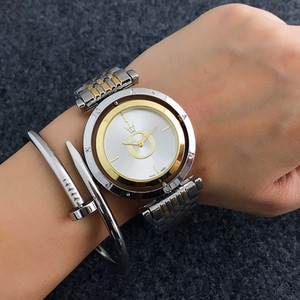 Wholesale Fashion Brand Wrist Watch women s Girl metal steel band Quartz Watches P20