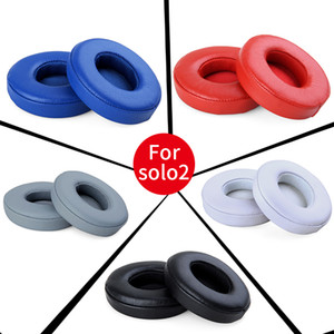 Replacement Ear Pads Foam earpads Cushions pillow cover for MP3 4 player solo3 Solo2 solo2.0 wireless headphone headset