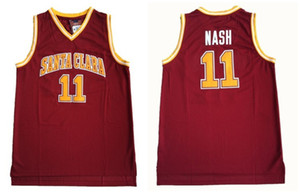 maillots de sport achat en gros de-news_sitemap_homeNCAA Santa Clara College Steve Nash Jerseys Mens Basketball Jersey Vintage Shirt Stitched Collection Classic Collection Sport