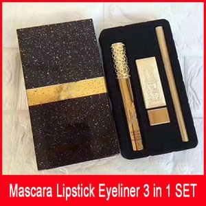 Wholesale Hot New Brand Makeup Set Set Mascara Lipstick Eyeliner in SET Cosmetics DHL Shipping