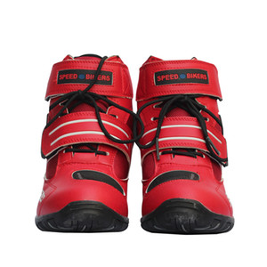 Motorcycle Boots PRO-BIKER High Ankle Racing boots BIKERS leather race Motocross Motorbike Riding Shoes for women men shoe