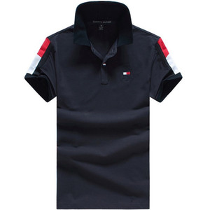 Wholesale New Italian designer polo shirt T shirt embroidered men s polo shirt high street fashion T shirt