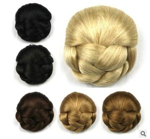 Europe and the United States source of fashion package, high temperature silk headgear lady's pin plate bun factory direct sale