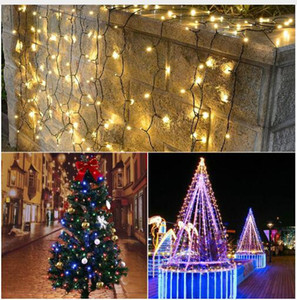 Wholesale wedding decor places for sale - Group buy LED Garden light Waterproof Outdoor M M M LED Solar String Decor Holiday Patio Landscape Wedding Party Christmas Lawn lamps