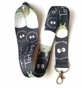 Wholesale New Cartoon Popular Anime My Neighbor Totoro Phone MP3 cell Neck Strap Lanyards