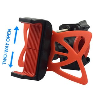Wholesale 3 Color Bicycle Phone Holder Navigation Bracket Mountain Bike Bicycle Accessories Bike Part Portable Practical