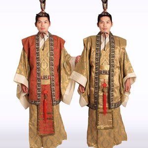Wholesale New Chinese Man Han Clothing Emperor Prince Show Cosplay Suit Robe Costume Minister Traditional Ancient Dress
