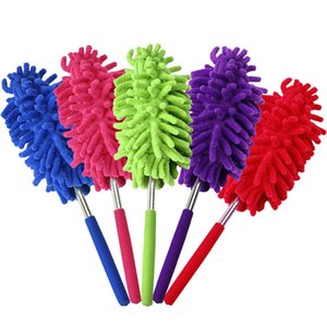 Scalable Clean Duster Car Wash With Dust Brush Mini Stainless Steel Feather Dusters Brushes High Quality