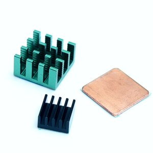 Wholesale 3PCS pure Aluminum Heat Sink for Raspberry Pi models A B B and boards