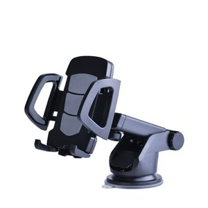 Wholesale Universal Car Phone Holder Gps Accessories Suction Cup Auto Dashboard Windshield Mobile Cell Phone Retractable Mount Stand