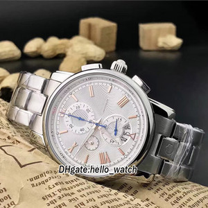 Wholesale 4810 Series Big Date U0114856 White Dial Japan Quartz Chronogrph Mens Watch Stainless Steel Band Stopwatch Gents New Watches