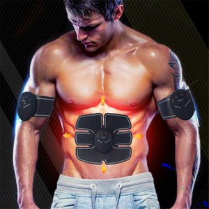 Abdominal Muscle Training Stimulator Device Wireless EMS Belt Electric Body Slimming Massager Body Beauty Machine Fitness Exercise Gear Hot2