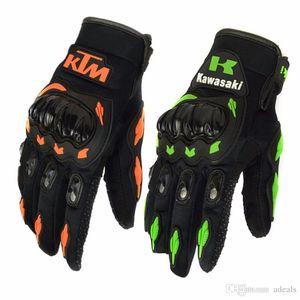 KTM Kawasaki Luva Motoqueiro Guantes Moto Motocicleta Luvas de moto Cycling Motocross gloves protective gear Gants Moto