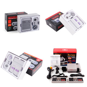Wholesale handheld video game systems for sale - Group buy Super Famicom Mini SFC TV Video Handheld Game Console Entertainment System For NES SNES Games English Retail Box