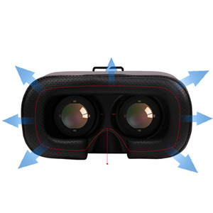 Wholesale New VR BOX VR CASE th Upgraded Version Virtual Reality D Glasses for Smart Phone iPhone S S Plus With Controller