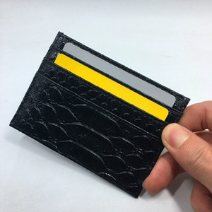 Wholesale 2016 New Genuine Python Skin Leather Coin Card Holder Slim Wallet Snake Leather Credit Card Holder Ultra Slim Wallets For Mans