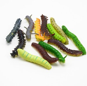 Wholesale New Fashion Pretty Mini Simulated Caterpillar Shape Kids Toys Home Party Soft Gifts Decor