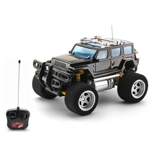 Wholesale Four-way remote control toy car remote control blasting suv model remote control toy car toys for children