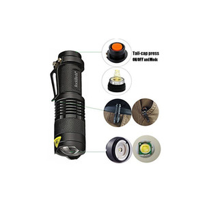 Wholesale best hunting led flashlight for sale - Group buy Rockbirds LED Flashlight A100 Mini Super Bright Mode Tactical Flashlight Best Tools for Hiking Hunting Fishing and Camping by ottie