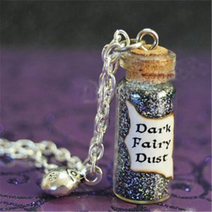 Wholesale 12pcs Once Upon a Time Dark Fairy Dust with a Lady Bug Charm Evil Potion Snow White Trolls Enchanted Forest Ouat