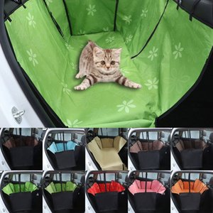 Wholesale hot Types Double Layers Oxford Fabric Waterproof Pet Car Seat Cover Dog Hammock Protector Back Mat Pet Carriers Accessories