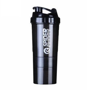 Wholesale shake bottles for sale - Group buy Creative Protein Powder Shake Bottle Mixing Bottle Sports Fitness Kettle Protein Shaker Sports Water Bottle
