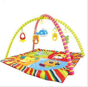 Wholesale Baby music Educational Multicolor toys cute cartoon animal carpet for month new kids educational sitting play crawling floor rugs mats