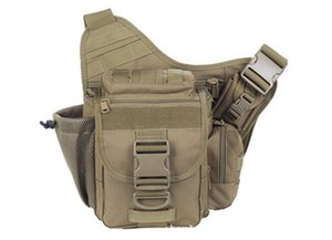 Wholesale Hot sale Colors D Tactical Molle Utility New Shoulder Pouch Black Tan ACU sports bag