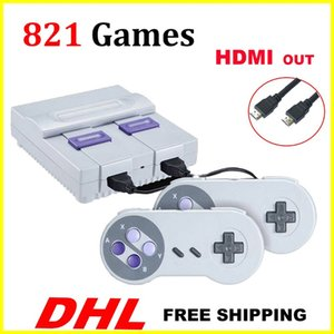 Wholesale HDMI Out TV Game Console can store 821 games Video Handheld for SNES games consoles toys