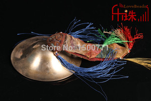 Wholesale Eight auspiciousPure copper Ryan Tinkle Bell carved brass cymbals supply