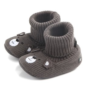 Wholesale Walkers Baby New arrival winter Nubuck genuine leather tassels type infant baby winter shoes for girls QJ