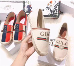 Wholesale 2019 Hot New Sell Women Espadrilles Top Quality Women Flat Shoes Fashion Comfortable casual loafer dh2a20