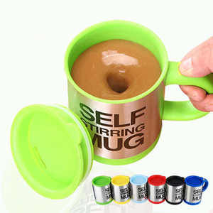 Wholesale Stainless Steel Coffee Mug Self Stiring Mugs Electric Automatic Mixing Cups for Stir Coffee Milk Mix Juice Drink Accept Logo Printing