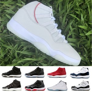 Wholesale Cheap 11 11s men Basketball Shoes Gym Red Midnight Navy Platinum Tint GAMMA BLUE WIN Space Concord 45 athletic sports man designer shoes