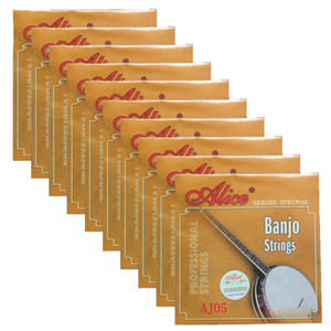 10Sets Alice Banjo Strings Coated Copper Alloy Wound DBGCG 5 Strings Set AJ05