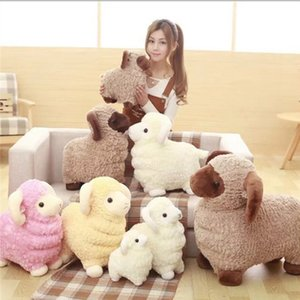 28cm Toys For Children Lovely Sheep Pink Plush Toys For Girls Valentines Day Gift soft in stock free shipping on Sale