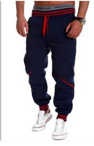 Wholesale Brand Designer Men Pants Hip Hop Harem Joggers Pants Male Trousers Mens Joggers Solid Pants Sweatpants Plus Large Size XL for Women