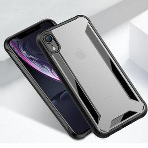 Wholesale Fashion Protection Cover for iphone XS XR XS MAX Anti fingerprint Hard Matte PC Soft TPU Bamper Cases for iphone Plus Plus