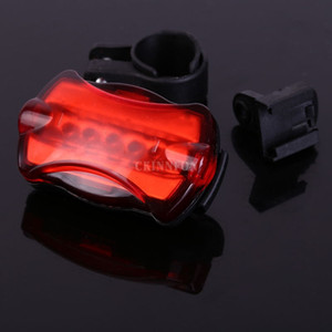 Wholesale DHL Super Bright Bicycle Lights LED Rear Tail Lamp Safety Warning Cycling Taillight Light Flash Modes Waterproof Light