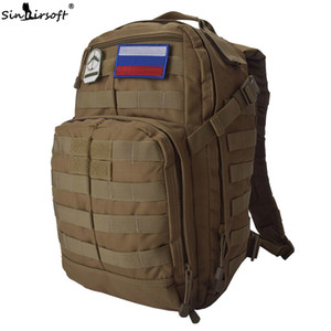 Wholesale SINAIRSOFT L Tactical Military Backpack quot Laptop D Oxford Fabric canvas Molle Rucksack Sport Camping Hiking Fishing Bags Nylon Pouch