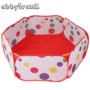 Wholesale AbbyFrank Foldable Children Play Toy Tents Ocean Ball Pit Pool Tent Portable Kids Play Game Outdoor Sport Fun Toy Tent For Kids