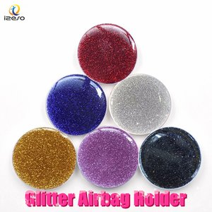 Wholesale For iPhone Xs Max Finger Holders Universal Degree Glitter Expanding Phone Grip Round Ring Holder Bracket Stand for Samsung Note9 LG MOTO