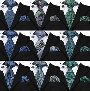 Paisley Mens Neck Tie Set High Quality Cheap Fashion Accessories Classical Adult Necktie Ties For Mens Neckties
