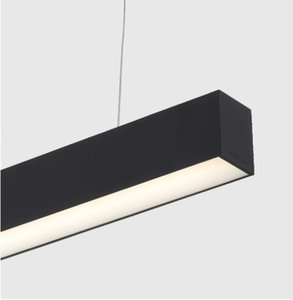 Free Shipping 1.5m LED Linear light with suspended cable and joint connectors silver and white housing available