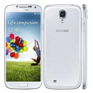 "Original Refurbished Samsung galaxy S4 Quad Core I9500 i9505 2G RAM 16G ROM 5.0"" Android 5.0 WCDMA LTE 4G Unlocked Smartphone"