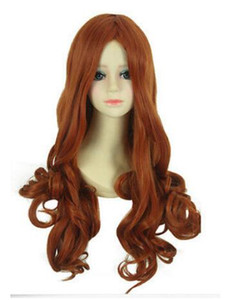 Wholesale Lady Long Red Wine Wave Curly Anime Brothers Conflict Hikaru Party Cosplay Wig
