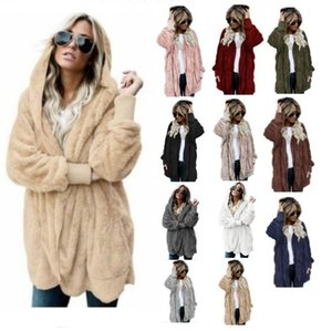 Wholesale 2018 Long plush warm cotton clothes for ladies in autumn and winter Wear a coat on both sides Fur imitation coat